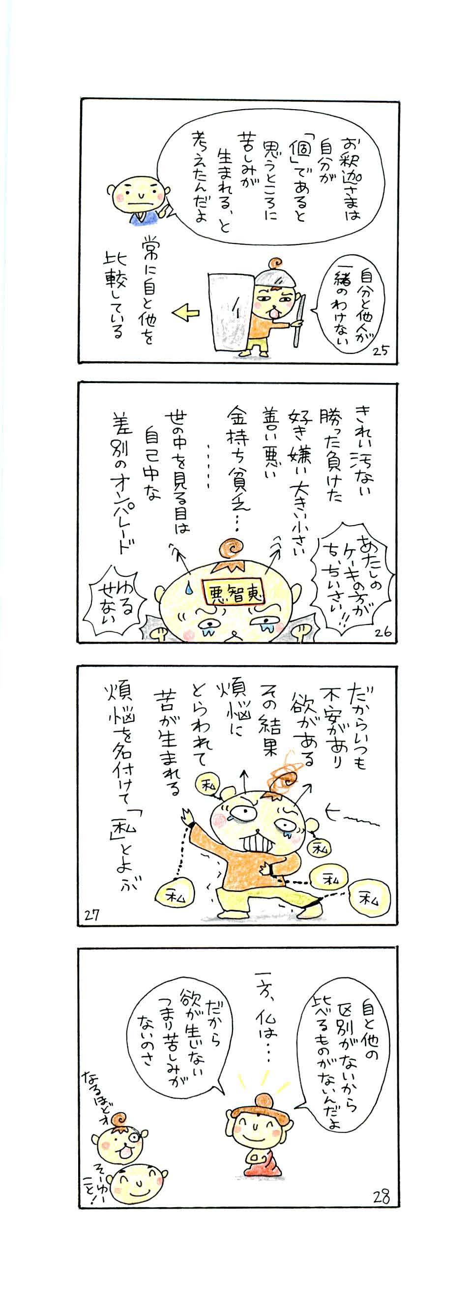 般若心経「五蘊と空」p25-p28